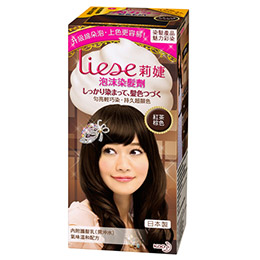 Liese莉婕泡沫染髮劑-紅茶棕色