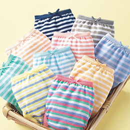 100%純棉觸感舒適一般款內褲10件組