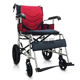 均佳鋁合金輪椅(外出型)JW-230