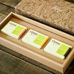日沐幸福禮盒(三塊皂裝)