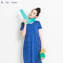 河馬大小點點不規則洋裝(3色)
