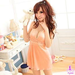 輕甜柔緞睡襯裙