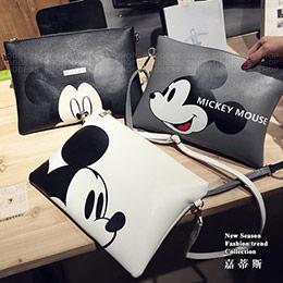 米奇卡通兩用信封包