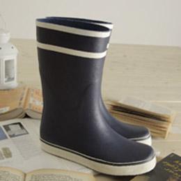 英倫復古學院雨鞋
