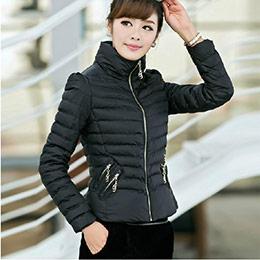 韓版合身羽絨棉羽絨外套