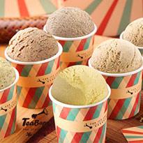 【茶吧噗】經典茶葉冰淇淋 6入組