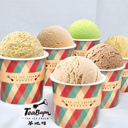【茶吧噗】經典茶葉冰淇淋 6入