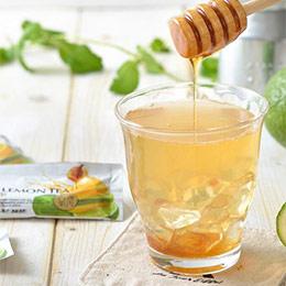 蜂蜜檸檬茶10包入★61%果汁