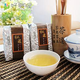 台灣私藏銀磚杉林溪茶1斤共4包入