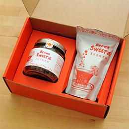 手工柴燒黑糖禮盒(罐裝+立袋)