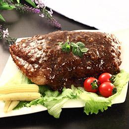 黃金黑胡椒佐味豬肋排 (約600g/包)