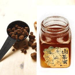 天然熟成山茶蜜+手工柴燒黑糖