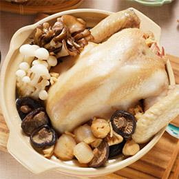 干貝香菇土雞湯(4~6人份)