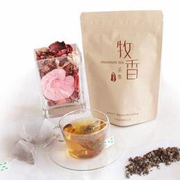 花茶系列★蜜香貴妃烏龍原片茶包20入