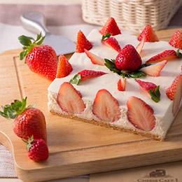 精品草莓乳酪蛋糕8吋