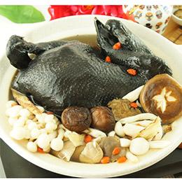 養生烏骨雞湯 -最拿手的招牌料理 (全雞2.5kg±5%)