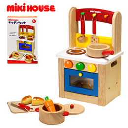 Mikihouse 木製廚房用品組