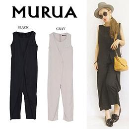 MURUA 秋冬新品2色連身褲