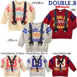 Double B 3色內鋪棉上衣