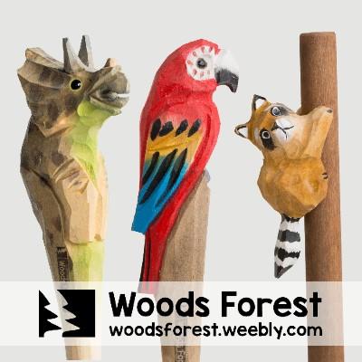 Woods Forest 木雕森林 - 【侏儸紀系列】