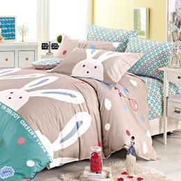PureOne-浪漫兔床包組