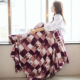法蘭絨毯子/兩用被套