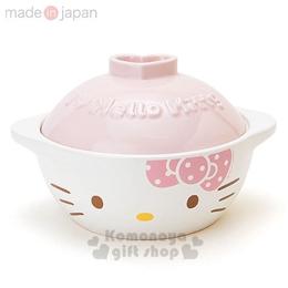Hello Kitty 日製陶瓷土鍋