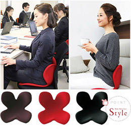 日本MTG Style 美姿 坐姿矯正椅(紅)