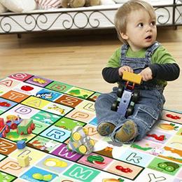 超值雙面加大寶寶啟蒙遊戲墊