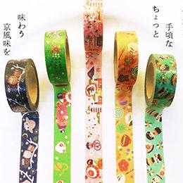 夏日神社慶典紙膠帶