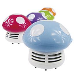 日系可愛蘑菇香菇桌上型吸塵器