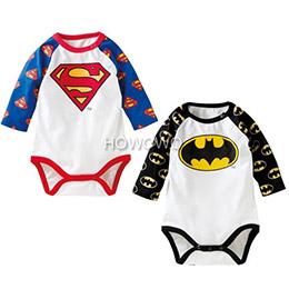超人蝙蝠造型!長袖包屁衣