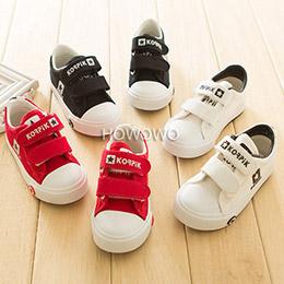 素面寶寶休閒學步鞋