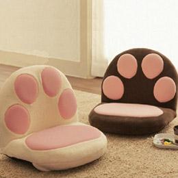 日式榻榻米貓爪沙發 懶人沙發和室桌椅地板椅