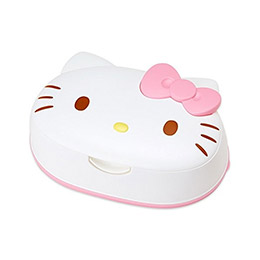 Kitty日製頭型濕紙巾盒