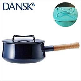Dansk2QT 木柄單耳珐瑯燉煮鍋