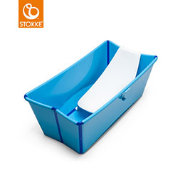 Stokke Flexi Bath 摺疊式嬰幼兒浴盆+浴盆架