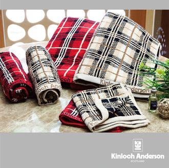 耶誕福袋 - 經典格紋毛浴巾組