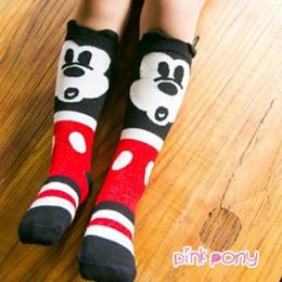 可愛小童棉質可愛造型襪