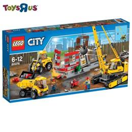 樂高 LEGO 爆破現場