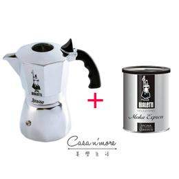 Bialetti Brikka增壓摩卡壺4人份+原廠咖啡粉組合