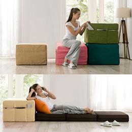 太空記憶棉多功能沙發床
