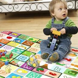 寶寶啟蒙爬行遊戲墊