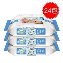 Baan 貝恩嬰兒EDI超純水保養柔濕巾80抽-24入