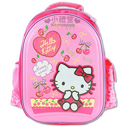 Hello Kitty 健康護脊書包 散熱功能環保軟膠背墊 現貨免運↘