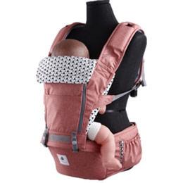 韓國 Pognae-No.5超輕量機能坐墊型背巾(4色)