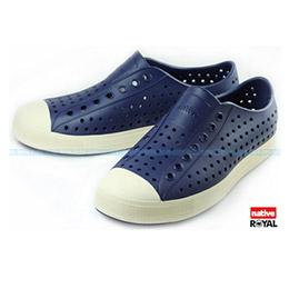 Native JEFFERSON 輕量 深藍色 奶油頭懶人鞋