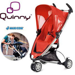 Quinny Zapp動力超強的旅行三輪車