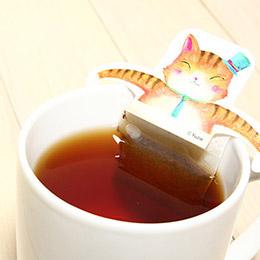 可愛動物泡澡茶包
