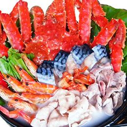 頂級智利帝王蟹豪華海陸鍋